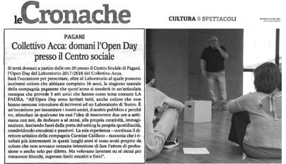 articolo Open Day